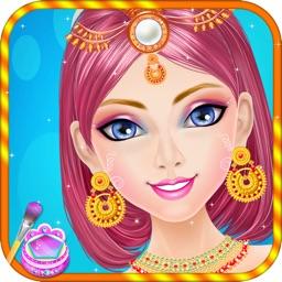 Indian Girl Makeover Salon