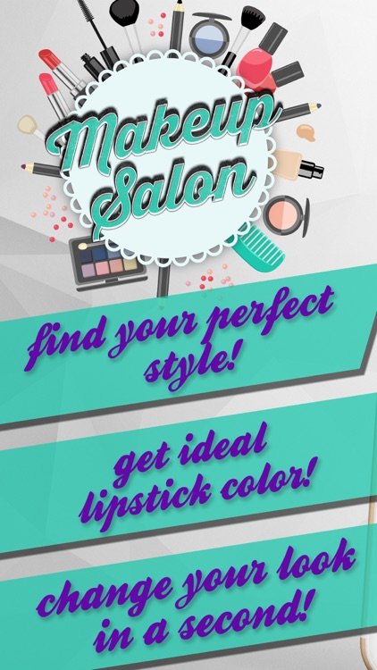Makeup Salon – Virtual Makeover in Fancy Beauty Studio Photo Montage Maker for Glam Girls