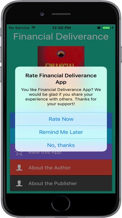 Financial Deliverance