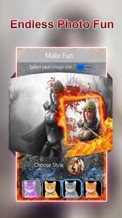Screenshot of Pip Photo Fun Box - diversi fotogrammi, Effetti e prendere in giro extra con PIP Camera Edit.or5