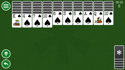 Spider Solitaire Classic Patience Game Free Edition by Kinetic Stars KSのおすすめ画像5