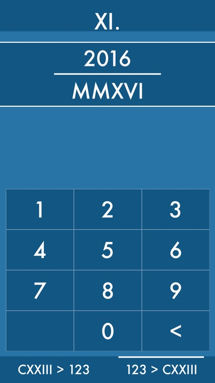 Xi Roman Numeral Converter By Andy Dobson