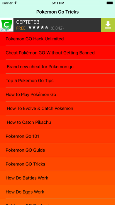 Top 10 Apps like Pokesniper Sniper Cheat Guide For Pokemon Go in