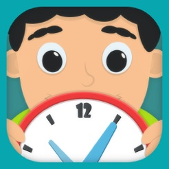 ‎Time Telling Fun for school Kids Learning Game for curious boys and girls to look, interact, listen and learn