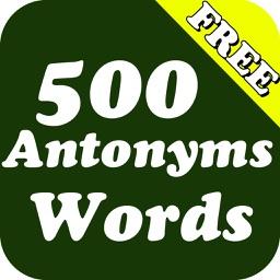 500 Antonyms (Opposite) Words Pro