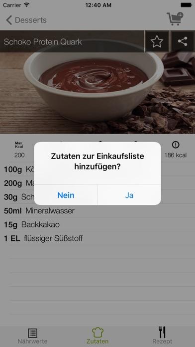 Screenshot for Protein Rezepte - Dein Fitness Rezept mit viel Eiweiß in Germany App Store