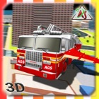 2016 Fire Truck Driving Academy – Flying Firefighter Training with Real Fire Brigade Sirens icon
