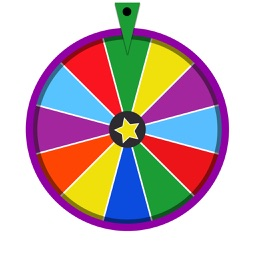 Official America : Stop The Wheel of Fortune, Spin and Stop the Genius Tire on same colour Triangle