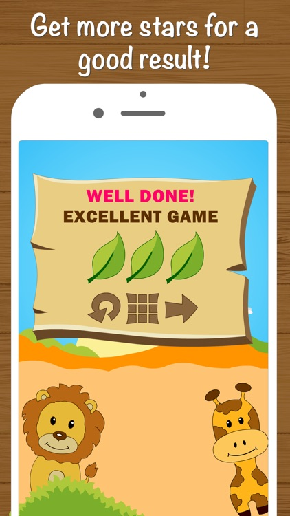 Safari Math - Addition and Subtraction game for kids screenshot-4