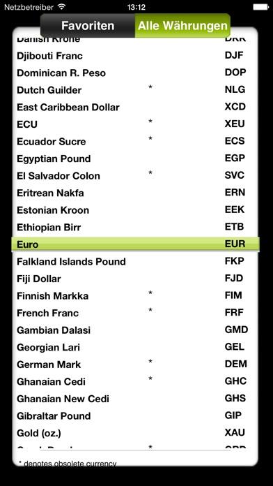 Screenshot for Währungsrechner von OANDA in Austria App Store