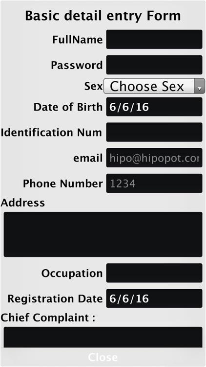 ManagePatients screenshot-3