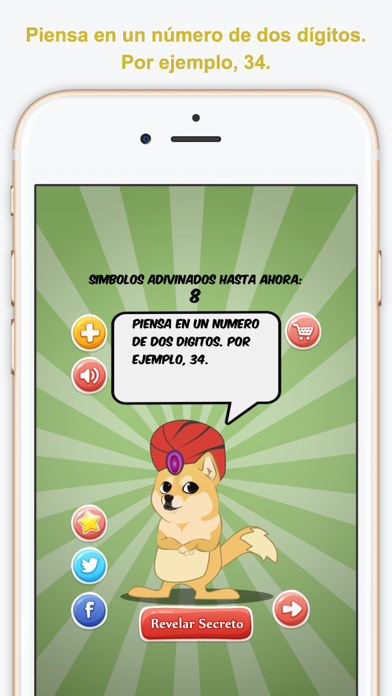 I Read Your Mind, Español (Leo Tu Mente) screenshot one