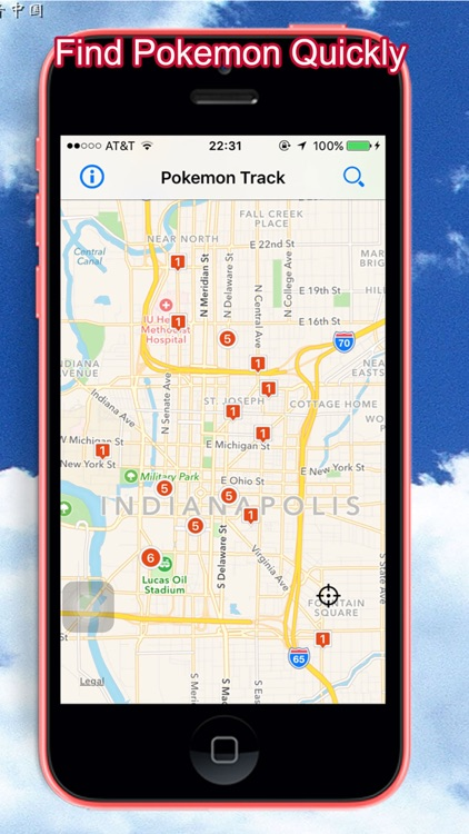 Location & Tracker for Pokemon Go