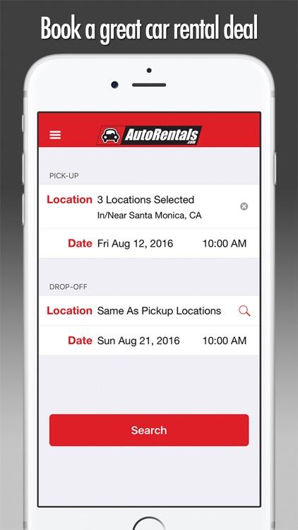 Car Rentals - AutoRentals.com screenshot-0