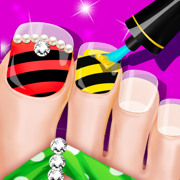 Girls Nail SPA - salon games