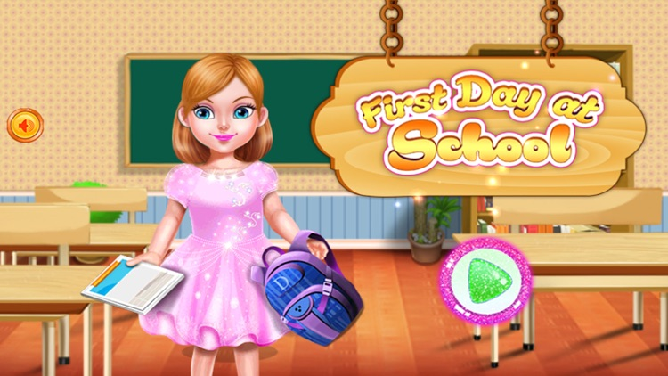 Girl First Day at School screenshot-1