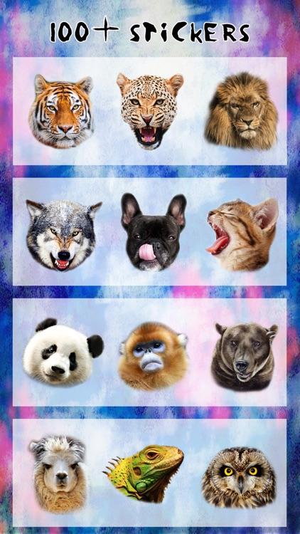 Animal Face Booth - Photo Sticker Blend.er to Morph and Change Yr Skin with Wild Animation Effect screenshot-3