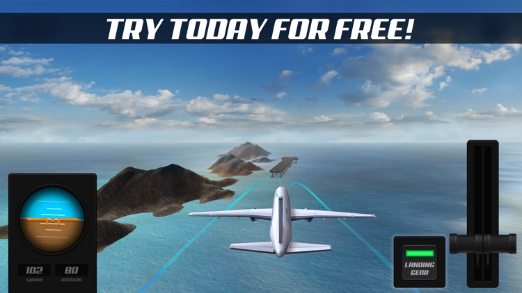 Airplane Alert Extreme Landing 3D screenshot-3