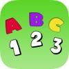了解ABC免费:教育要写字母,数字和英语单词