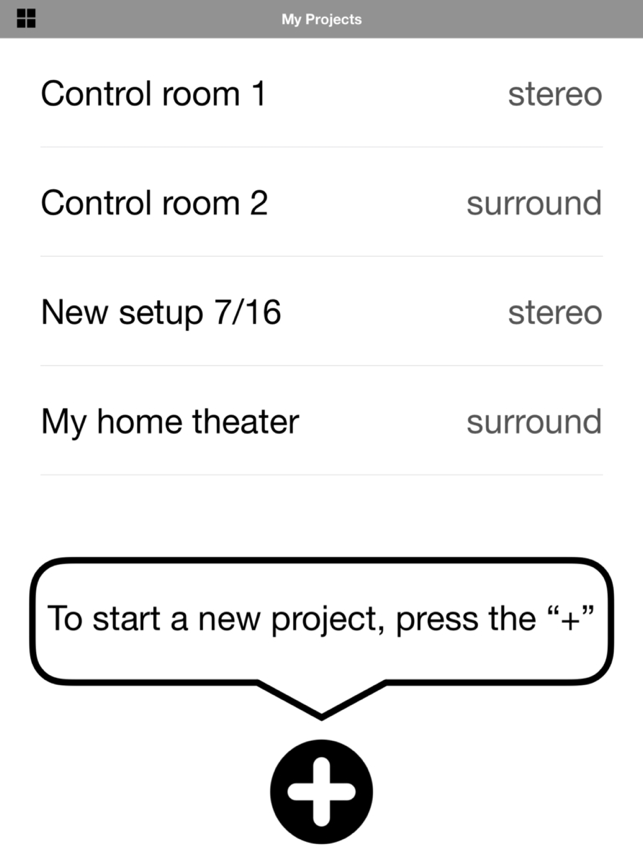 SpeakerAngle Screenshot