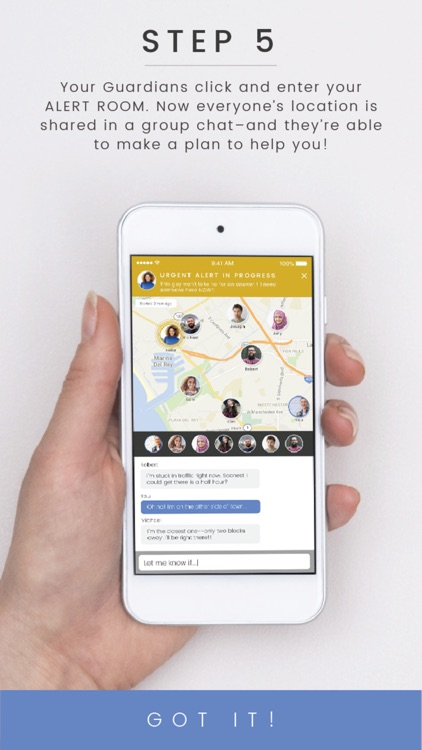 Guardian Circle - Personal Safety Network screenshot-4