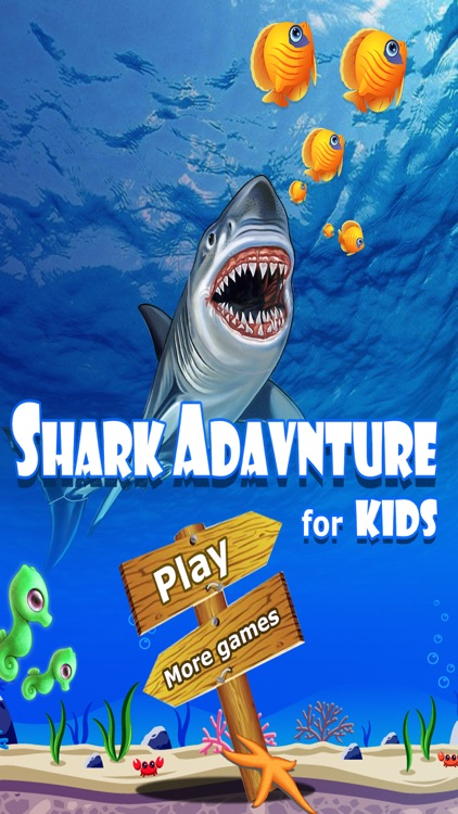Under Water World.Shark Adventure for kids