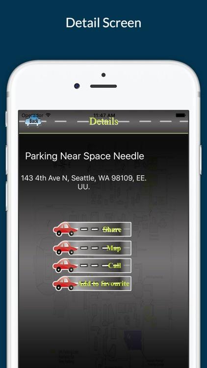 Parking Finder - Find Nearest Parking Place screenshot-3