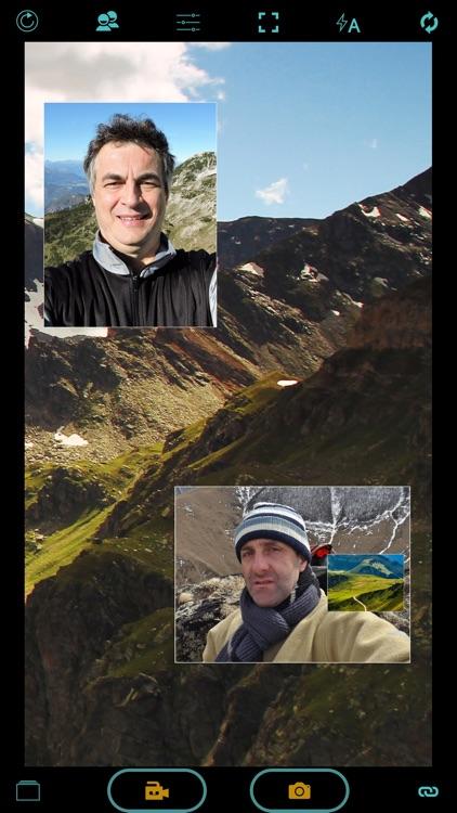 Photonu - live photo dual cam: front, back, peer screenshot-3