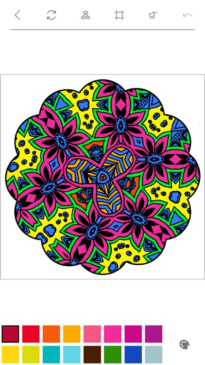 Mandalas to Color - Stress Relievers Relaxation Techniques Coloring Book for Adults