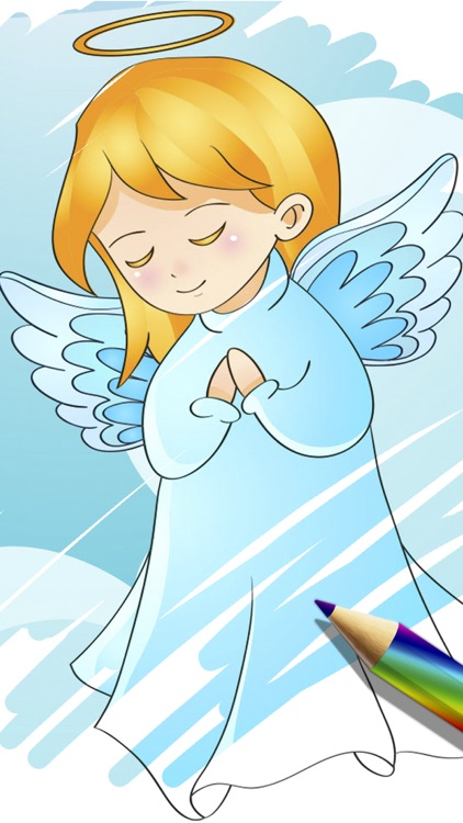 Children's Bible coloring book for kids - Pro