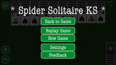 Spider Solitaire Classic Patience Game Free Edition by Kinetic Stars KSのおすすめ画像3