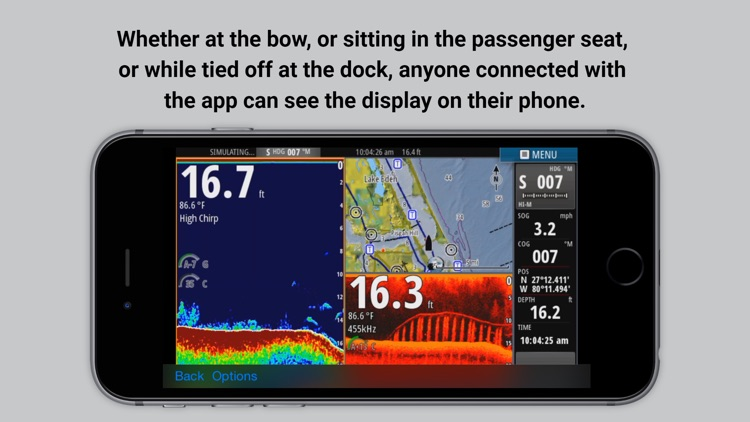 Lowrance GoFree Controller & Viewer screenshot-2