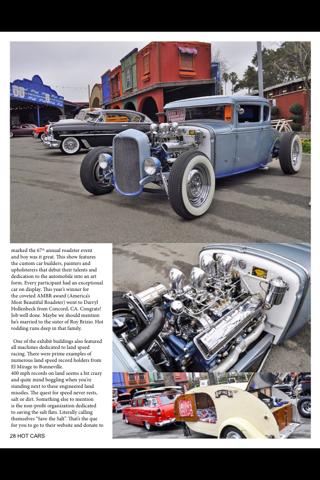 HOT CARS Magazine - náhled