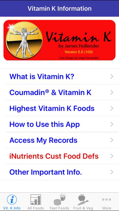 Vitamin K review screenshots