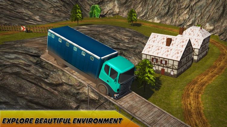Extreme Cargo Transport Truck Driver & Forklift Crane Operator Game screenshot-3