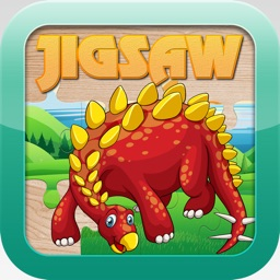 Dinosaur Jigsaw Puzzles - Learning Games Free for Kids Toddler and Preschool