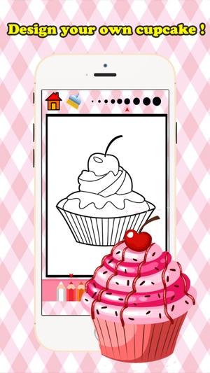 Firin Cupcake Boyama Kitabi Bedava Oyunlar Cocuklar Icin Yas 1 10