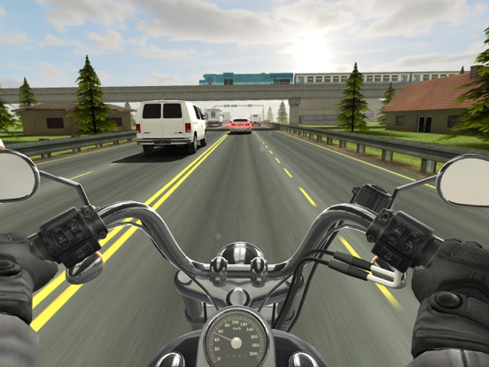 Traffic Rider на iPad