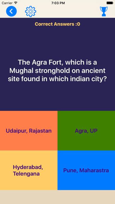 India State Quiz screenshot two
