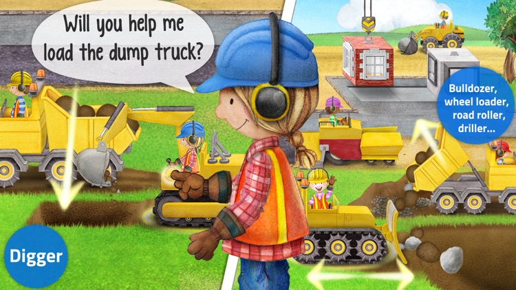 Tiny Builders - Action Construction Site for Kids! screenshot-3