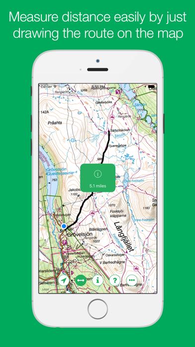 Swedish Mountain Maps screenshot three