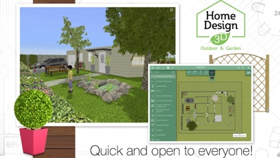 Screenshot #7 for Home Design 3D Outdoor&Garden