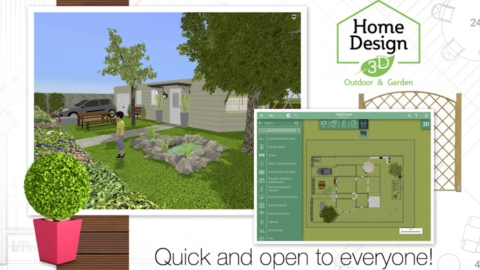 Home Design 3D Outdoor & Garden Screenshot