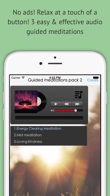 Quick Calming Meditations pack (Guided)