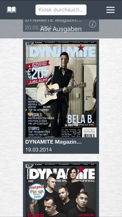 DYNAMITE Magazin screenshot one