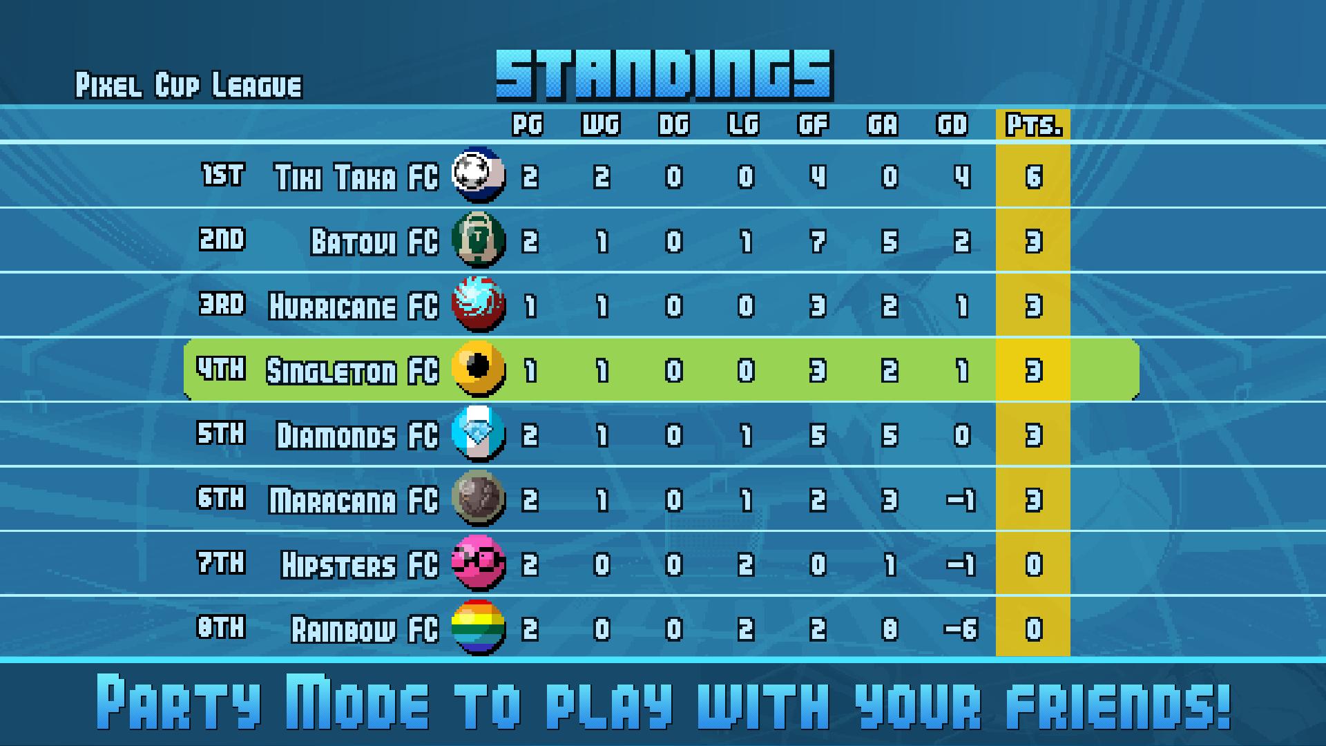 Pixel Cup Soccer 16 screenshot 15