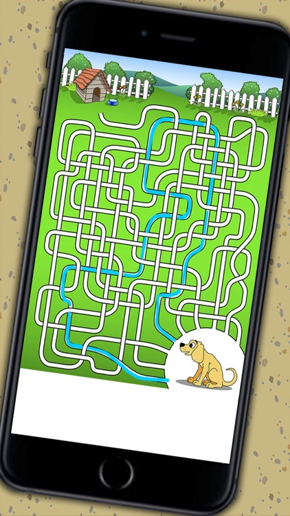 Mazes for kids - Puzzle game for children 3 to 8 years old