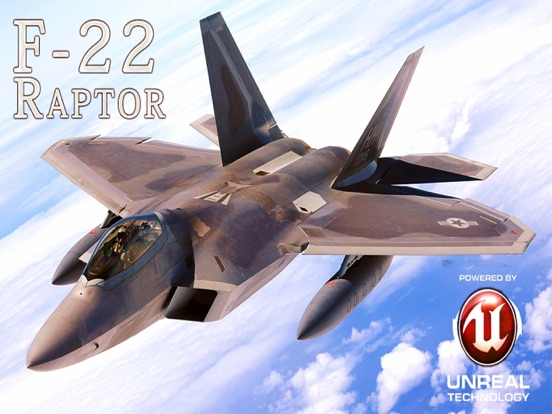 F-22 Raptor - Combat Flight Simulator of Infinite Airplane Hunter | App  Price Drops