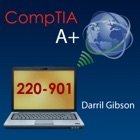 CompTIA A+ 220-901 Exam Prep Questions Flashcards and Tests -- by Darril Gibson icon