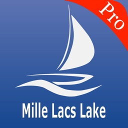 Mille Lacs Lake Nautical charts pro